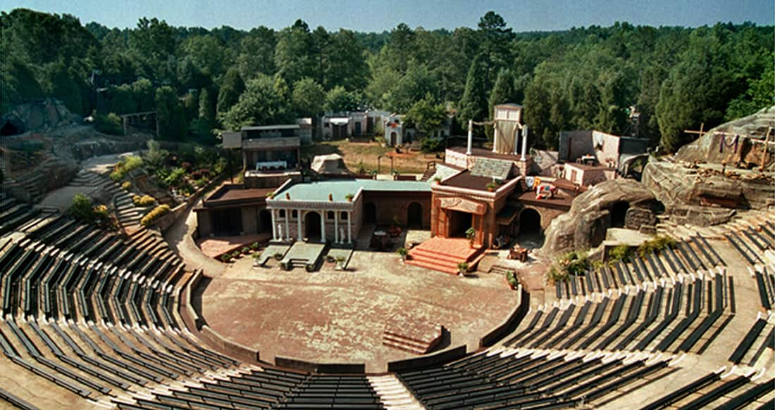 renovated amphitheatre
