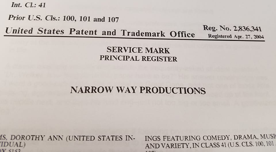 2004 narrowway mark
