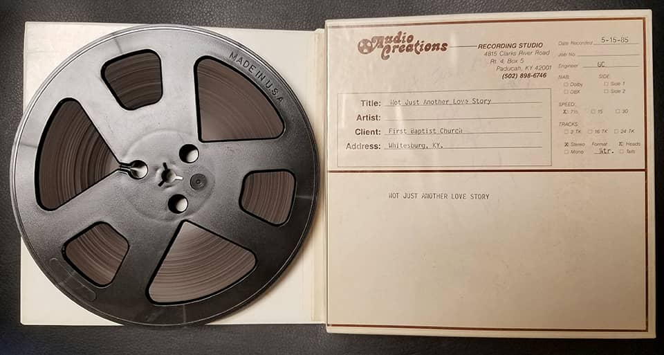 reel to reel recording tape
