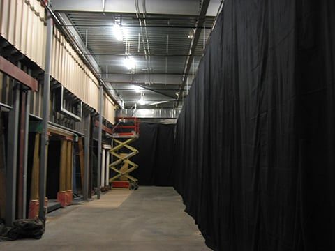 indoor backstage