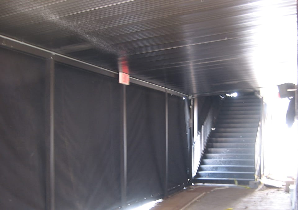 backstage canopy