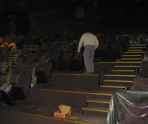 seating renovation