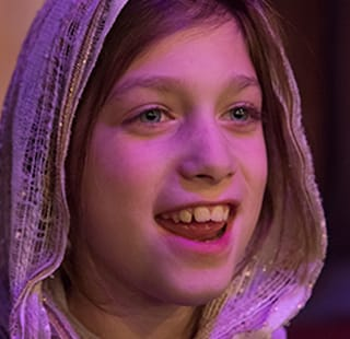 biblical child smiling